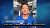 Le premier joueur vietnamien de futsal participe à la campagne contre le COVID-19 de l'AFC