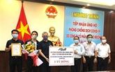 Un groupe thaïlandais octroie un milliard de dôngs à Bên Tre