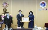 La vice-présidente vietnamienne salue les réalisations du secteur de la santé