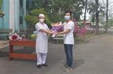 Le premier patient de COVID-19 est sorti de l'hôpital