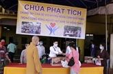 La pagode Phât Tich à Vientiane soutient des Vietnamiens touchés par l'épidémie de COVID-19