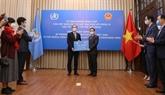 La contribution du Vietnam au Fonds de riposte à la COVID-19