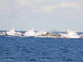 Les actes menés par la Chine en Mer Orientale augmentent la tension régionale