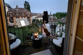 Sur son balcon suisse, la violoniste Alexandra Conunova