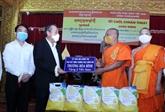 Le vice-PM Truong Hoà Binh adresse des voeux aux Khmers à Hô Chi Minh-Ville