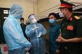 Dang Thi Ngoc Thinh encourage la force anti-pandémique du Commandement deHanoï