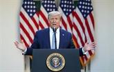 Trump jure qu'il ne parlera plus, puis reprend la parole