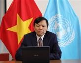 ONU : le Vietnam appelle à la coopération internationale en faveur des jeunes