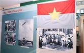 Ouverture d'une exposition sur la grande victoire du Printemps 1975