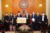 Plus de 81 millions d'USD collectés pour soutenir la lutte contre le COVID-19