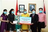 Des activités de diplomatie populaire pour combattre ensemble la pandémie
