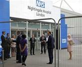 Coronavirus : un vaste hôpital ouvre à Londres, la reine va s'exprimer