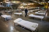 Les hôpitaux de campagne fleurissent aux États-Unis, en attendant la vague