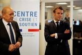 Coronavirus : Macron salue la