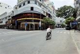 Distanciation sociale : les saisissantes images d'une Hô Chi Minh-Ville désertée