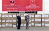 Le Laos salue le soutien du Vietnam à sa lutte contre le COVID-19