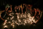 L'Inde s'illumine contre les