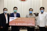Coronavirus : des entreprises vietnamiennes viennent en aide au Laos