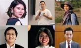 Six Vietnamiens dans la liste