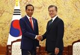 Séoul et Jakarta ont convenu de signer leur accord commercial bilatéral dès que possible