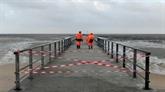 Dix départements en alerte orange pluie-inondation