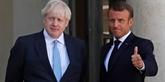 Macron et Johnson pour une coopération bilatérale, européenne et internationale étroite