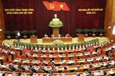 Le 12e plénum du CC du Parti achève sa 1re journée de travail