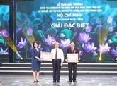 Remise des prix du concours d'écriture sur l'exemple moral du Président Hô Chi Minh