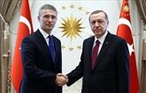 Leprésident turcet le secrétaire général de l'OTAN s'entretiennent au téléphone