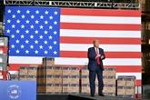 Le coronavirus plonge le duel entre Trump et Biden dans l'incertitude