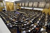 Ouverture de la première session du Parlement du nouveau gouvernement