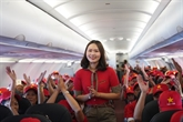 Vietjet lance une grande promotion avec 200.000 billets à zéro dông