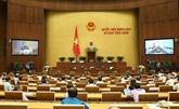 Deux projets de loi soumis à l'Assemblée nationale