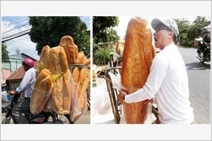 Les banh mi géants dAn Giang loués par des médias étrangers
