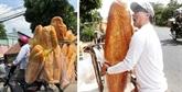 Les banh mi géants d'An Giang loués par des médias étrangers