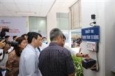 Mise en œuvre de la carte d'assurance maladie à l'hôpital Cho Rây