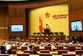Les députés examinent deux projets de loi, un projet de résolution le 23 mai
