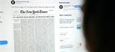 Le New York Times consacre sa Une aux morts du coronavirus