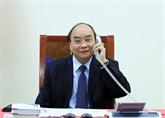 Des dirigeants vietnamien et philippin s'entretiennent par téléphone
