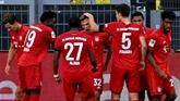 Allemagne : le Bayern s'impose à Dortmund et s'ouvre la voie du titre