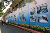 Expo sur les 45 ans de construction et de développement de HCM-Ville