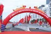 Hai Phong : une artère urbaine ouverte à la circulation