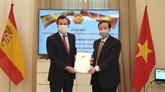 Nomination du consul d'honneur du Vietnam à Séville