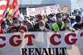 Renault : manifestation à Maubeuge contre le plan d'économies
