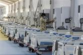 Bahreïn érige un hôpital de campagne sur une île artificielle