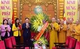 Naissance de Bouddha : le secrétaire du Comité du Parti de Hanoïformule ses voeux