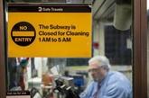 Symptôme d'une ville malade, le métro new-yorkais s'arrête la nuit