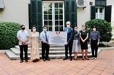L'Association d'amitié Vietnam - Allemagne offre 80.000 masques à l'Allemagne