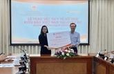 Dons offerts à la diaspora vietnamienne en Europe pour lutter contre le COVID-19