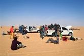 La peur du coronavirus ne ralentit pas le flux de migrants à travers le désert
